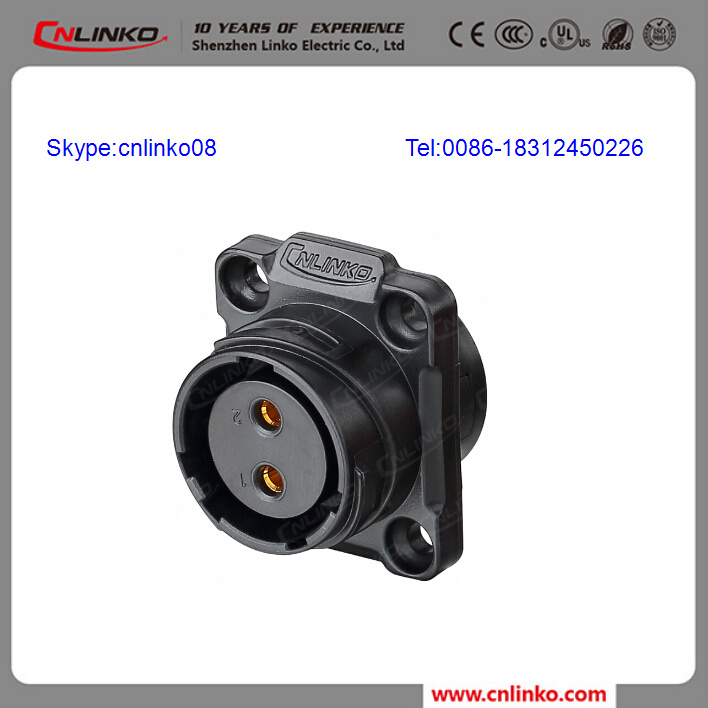 Waterproof Outlet/Circular Power Connectors/Panel Mount Connector