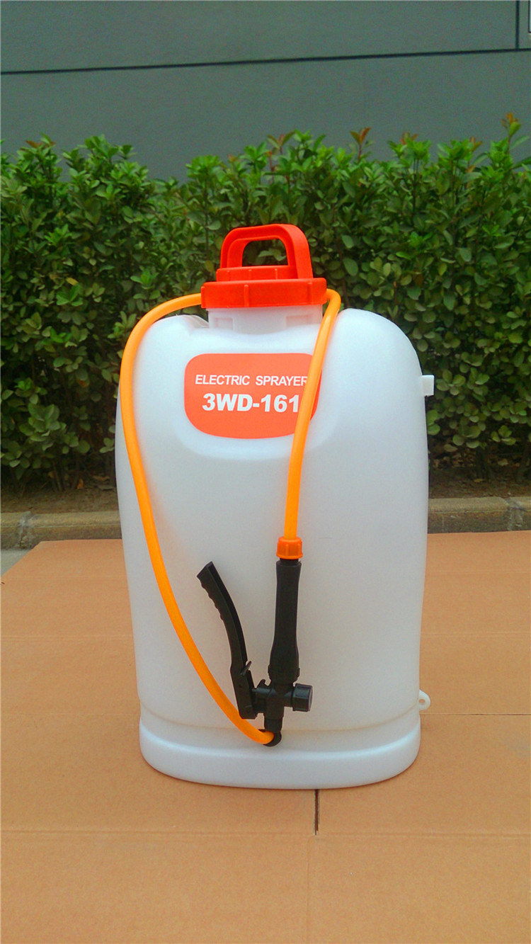 New Model 16L High Quality Knapsack Electric Battery Sprayer with Ce (3WD-161)