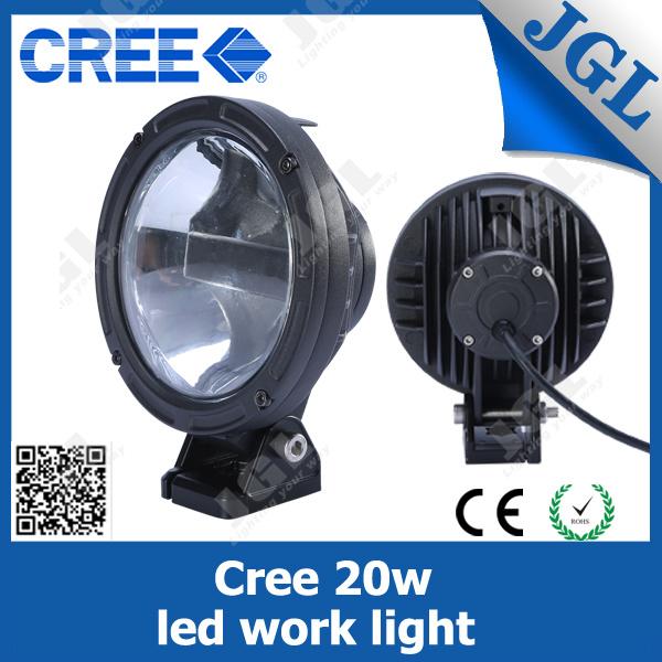 Car LED Light, LED Working Lamp Headlight 20W E-MARK