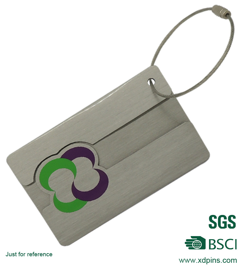 Hot Sale Custom Aluminum Metal Luggage ID Tag