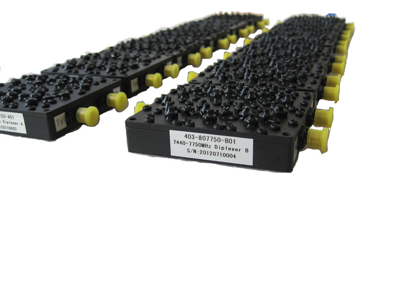 Passive Microwave Wireless CDMA/GSM/FM/UHF/UMTS/Lte Cavity Duplexer /Diplexer SMA-Female Connector