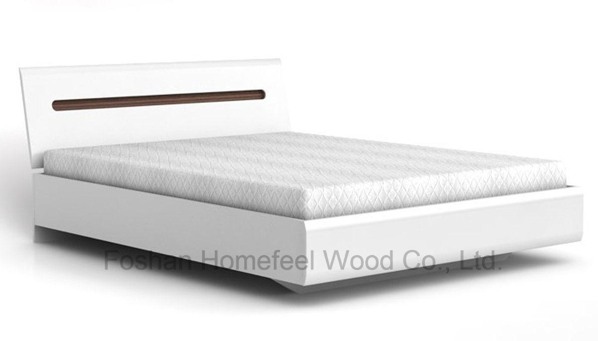 New Design White High Gloss Bedroom Set (HF-EY066)