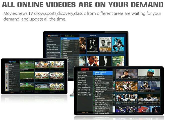 Ott+DVB-T2/S2/ISDB/ATSC/Dtmb Android Set Top Box