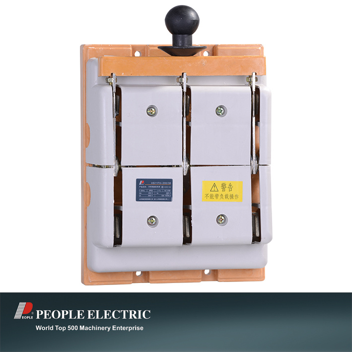 Knife Switch of HS11fh-200-38 Protection Type Open Type