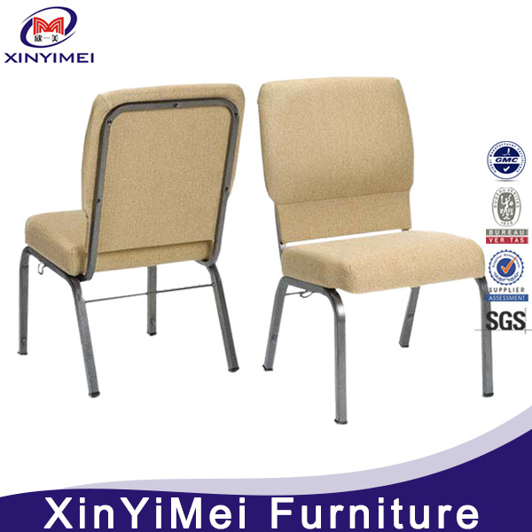 Popular Economic Church Chair, Chair for Church, Metal Church Chair, Iron Church Chair, Stacking Church Chair, Auditorium Chair (XYM-024)