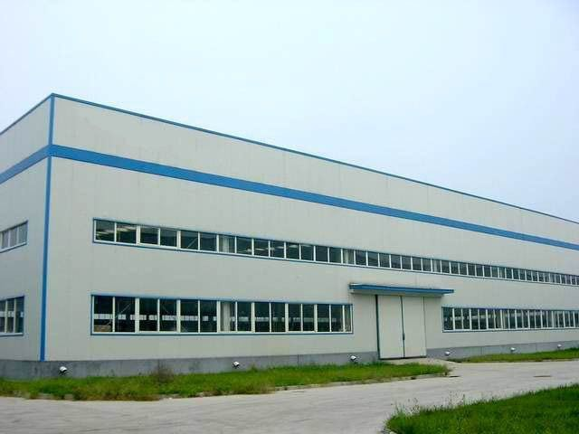 Al-Mg-Mn Panel Steel Structure Frame Warehouse