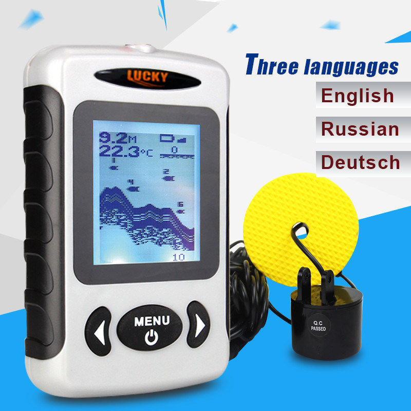 Portable Sonar Fish Finder, Fishing Tackle (FF718)