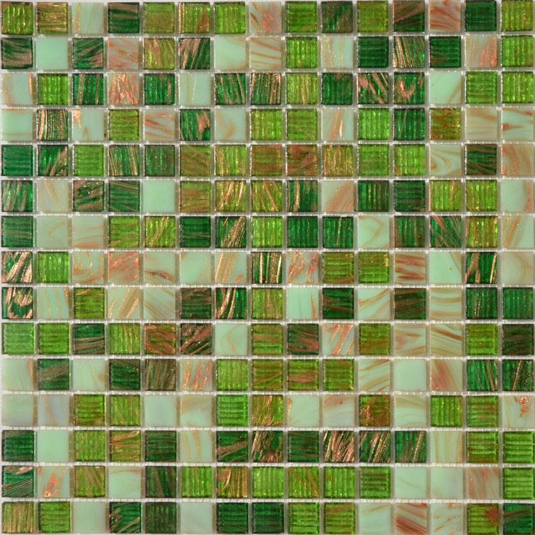 Blue Glass Mosaic Mosaico Chinese Cheap Swimming Tile