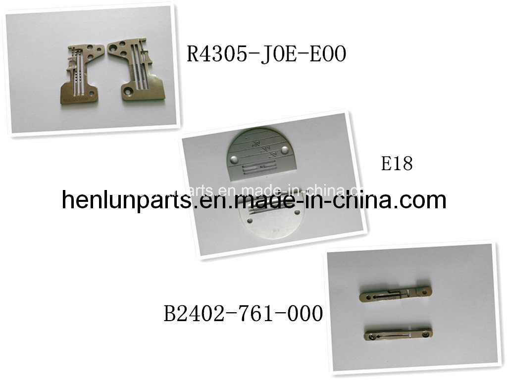 High Quality of Sewing Machine Part for Needle Plate
