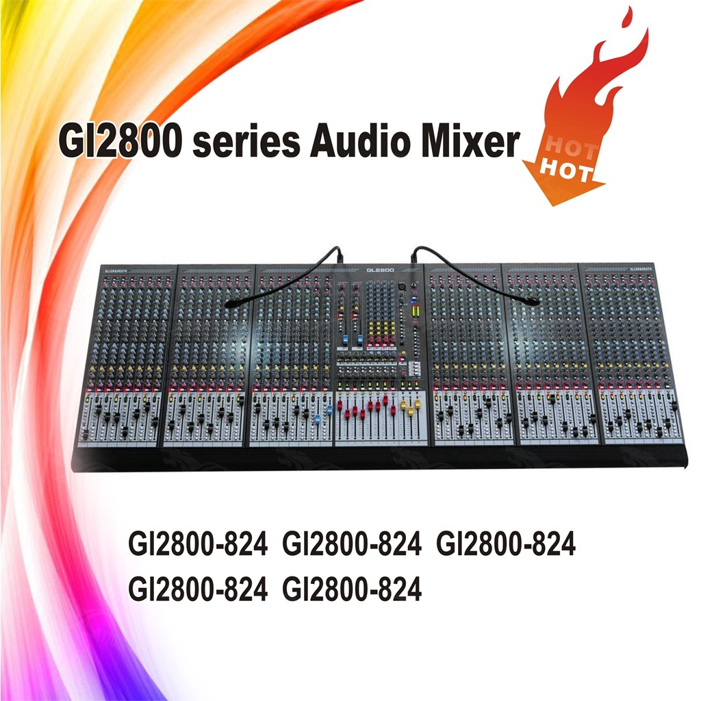 Skytone Gl2800-824 Music Mixing Console Audio Mixer