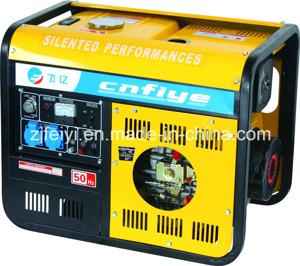 Fyd6500 Professional 5kw Self-Starting Diesel Generator