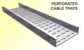 Galvanized Steel Perforated Cable Tray/Ladder/Support/Bridge Sizes for Industrial