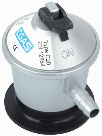 LPG Jumbo Low Pressure Gas Regulator with Hose (C20G56D30)