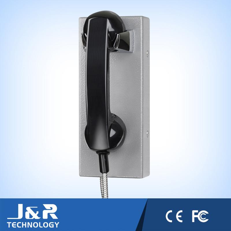 Prison Vandal Resistant Intercom Phone Inmate Visatation Phone Jail Telephone
