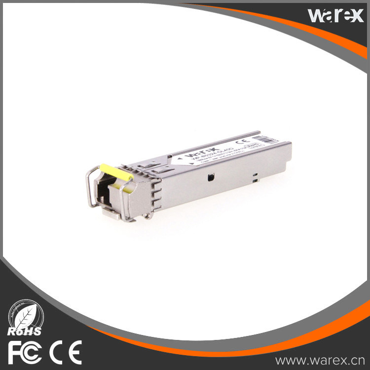 GLC-BX-D-80 - 1000Base BX-D LC, 80 Km, TX: 1550 nm, RX: 1490 nm SFP transceiver. 100% Cisco compatible.