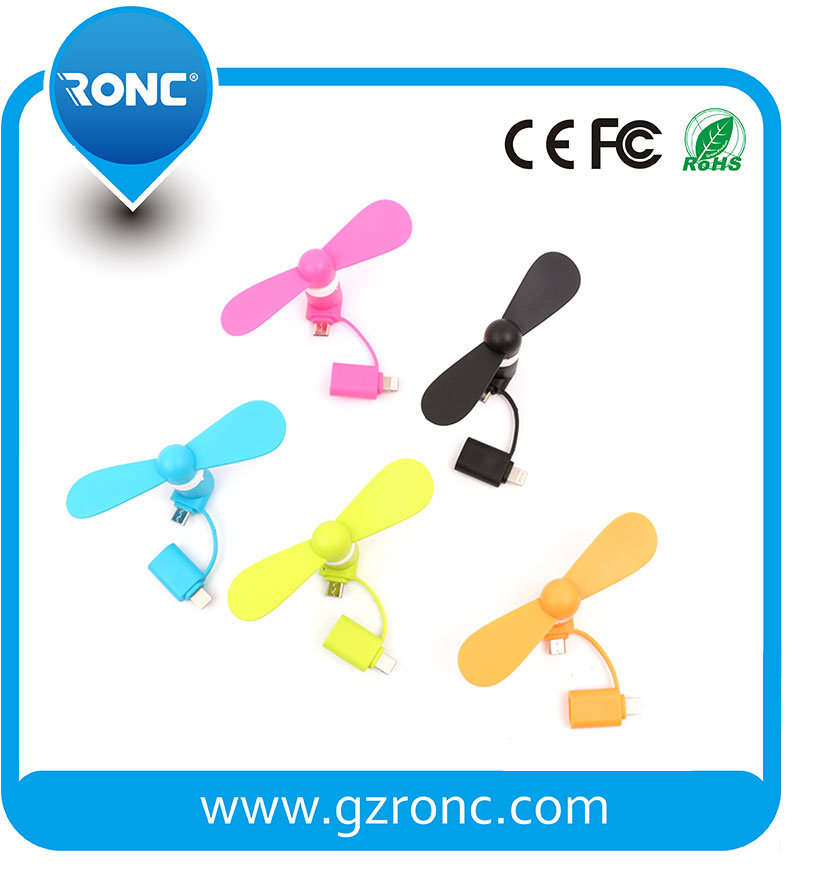Cheap Small Portable Mini Fan for Mobile Phone