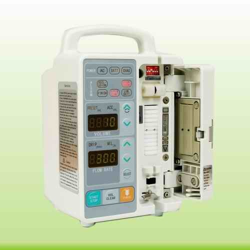 1-1100 Rate CE-Marked Peristaltic Infusion Pump