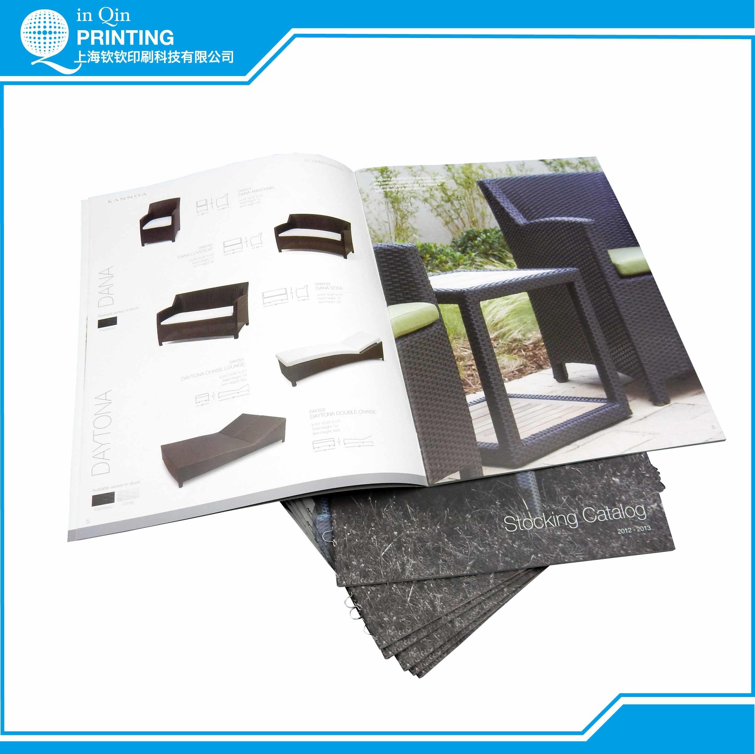 Staple Full Color Furniture Catalog Printing