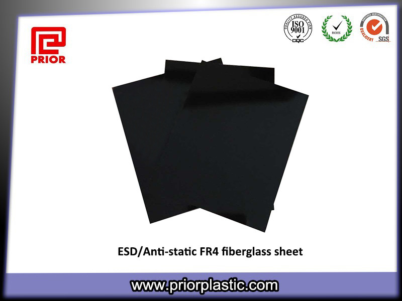 Black ESD Fr4 Sheet with 10^6~10^9 Surface Resistivity