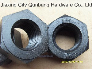 Heavy Hex Nuts (Fastener, Haiyan Hex Nuts A194-2hm,)