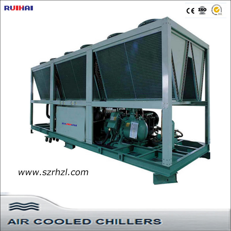 80 to 400kw Industrial Air Cooled Screw Water Chillers