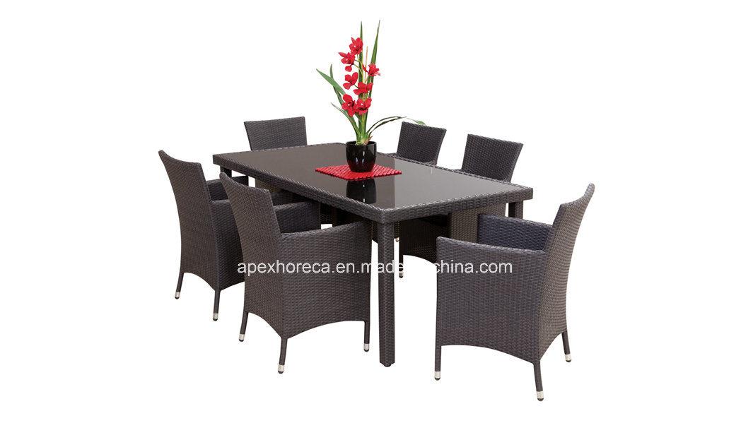 Popular Outdoor Rattan Furniture Wicker Garden Furniture Dining Set