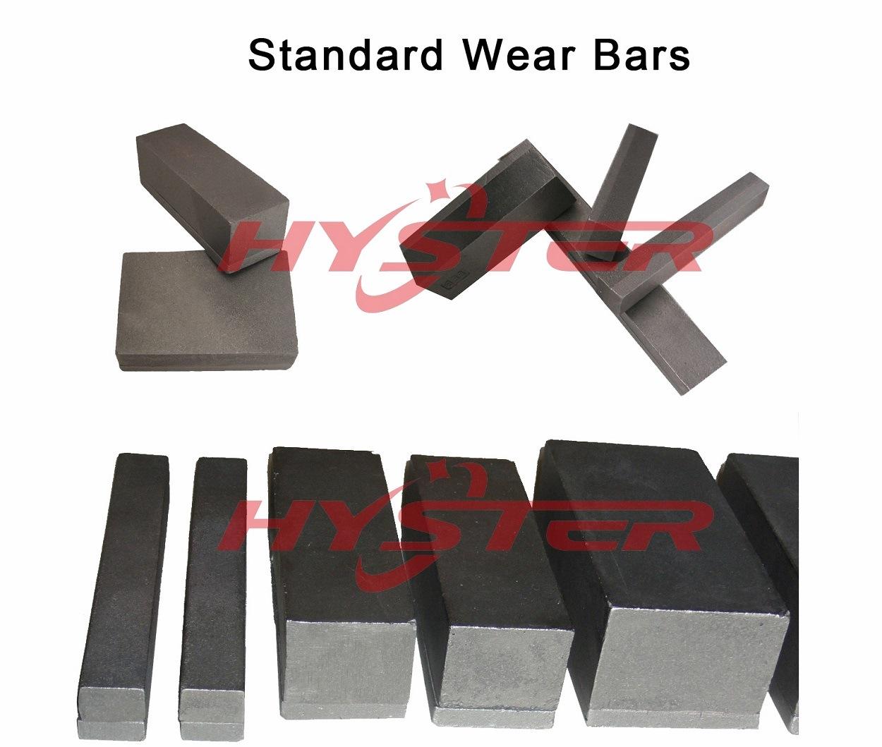 Antiabrasivos-Wear Bloques chock bars