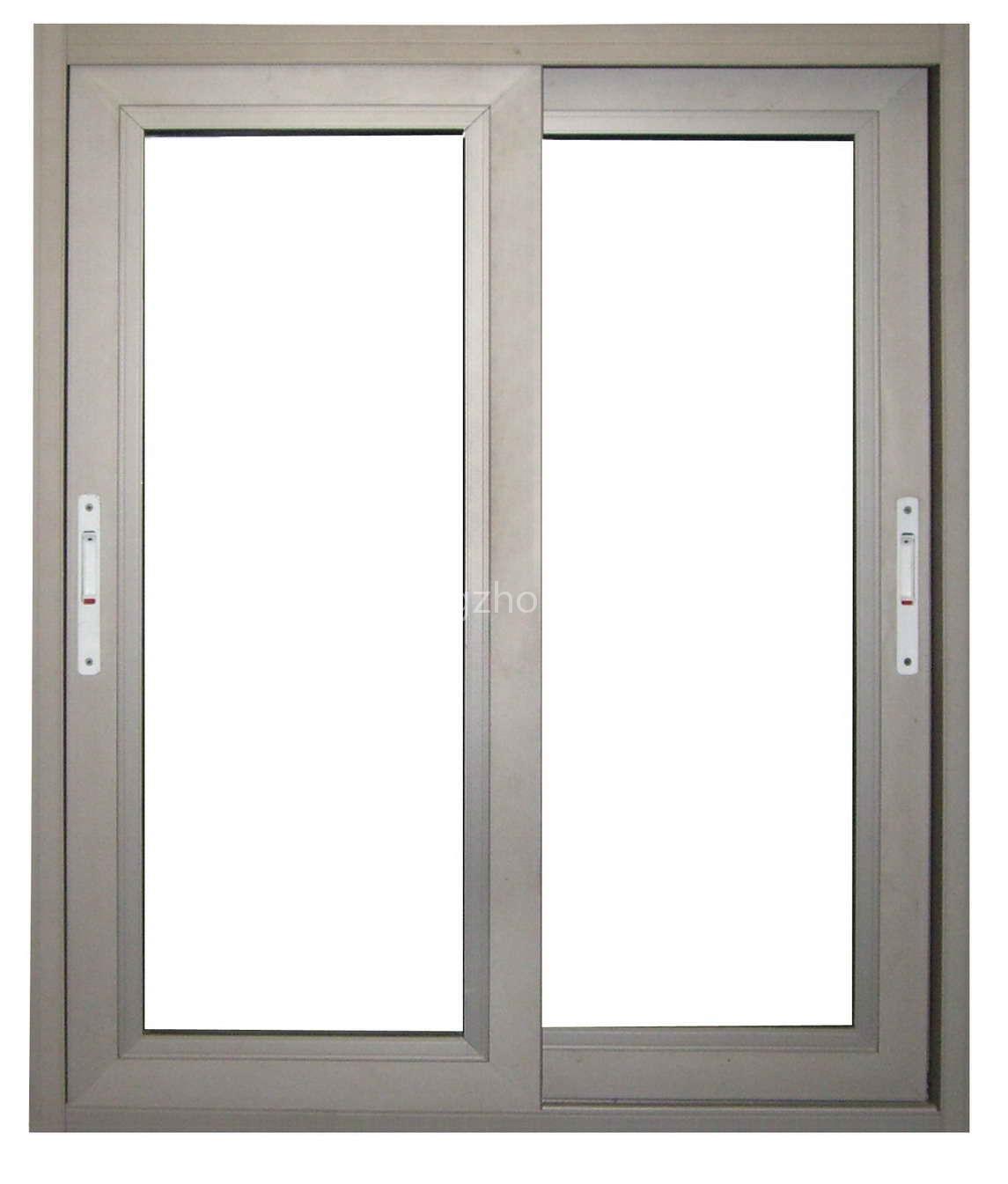 Double Sliding Windows : China latest design double glazing aluminum sliding window