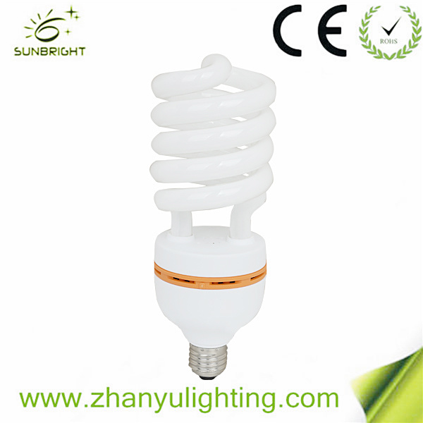 8000hours 26W Tri-Color Spiral Energy Saving Light