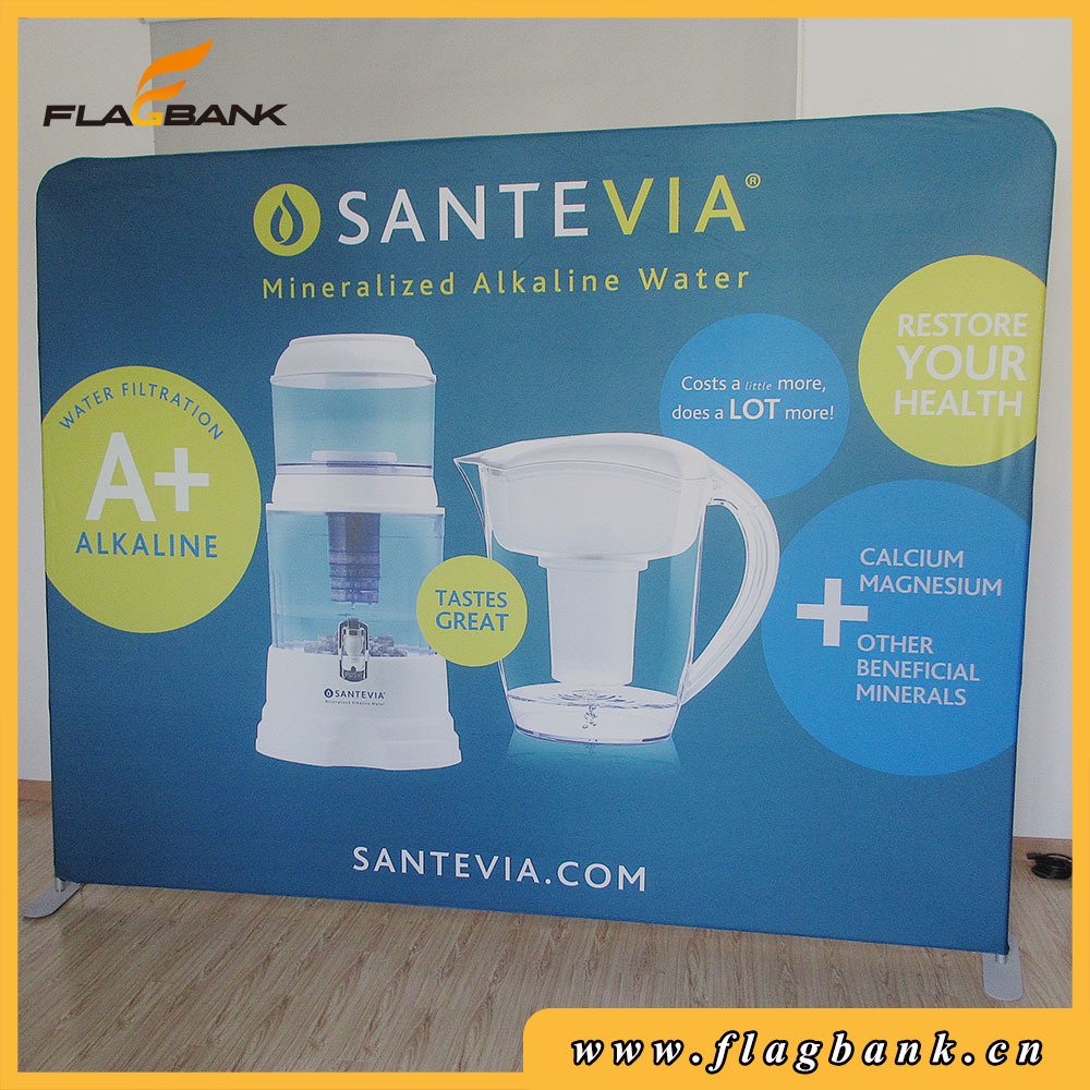 10FT Stright Tension Fabric Display, Pop up Display