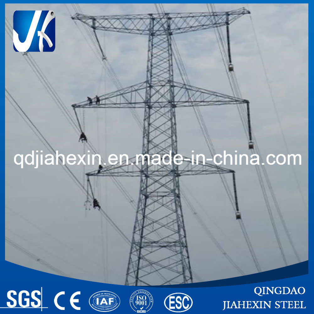 Hot Sale Ganlvanized Angle Steel Power Transmission Tower Wst-001