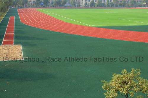 400m 8lanes Stadium Athletic Tracks Surface (IAAF, CE)