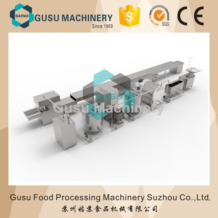 Ce Energy Saving Snickers Chocolate Bar Enrobing Coating Machine (TYJ1000)