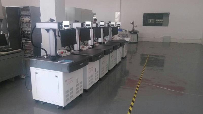 20W FDA Standard Aluminum Alloy Workbench Metal Fiber Table Laser Marking Machine