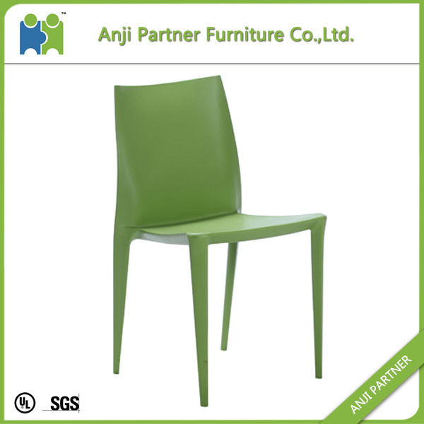 PP From Mould Injection Design High Back White Dining Room Chair (Cynthia)