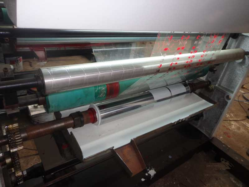 BOPP Plastic 4 Colors Gravure Printing Machine (ASY-41000A)