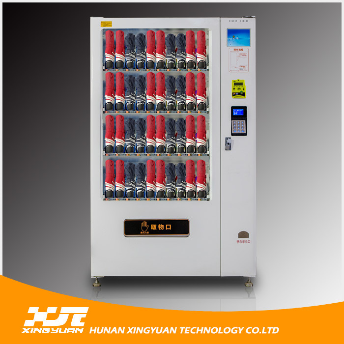 Coin/Banknote/Credit Card Customized Vending Machine for Folded Umbrella