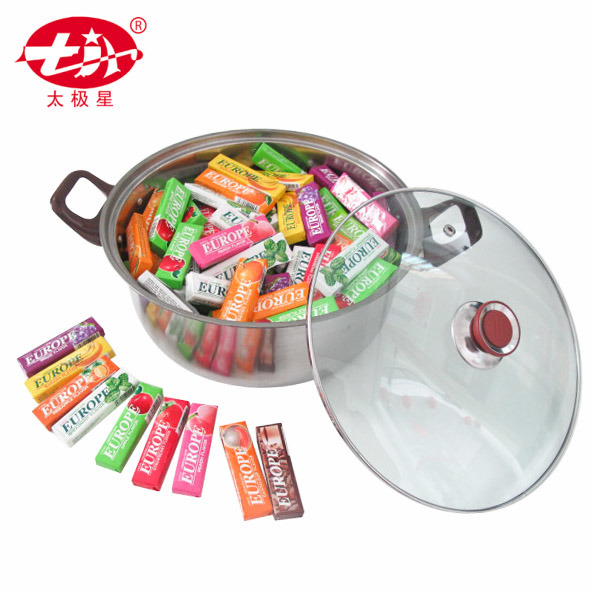 Stainless Steel Container Double Layer Lunch Box Bubble Gum