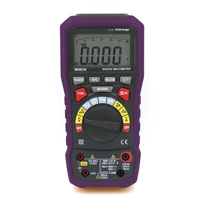 True RMS Digital Multimeter Ms8236