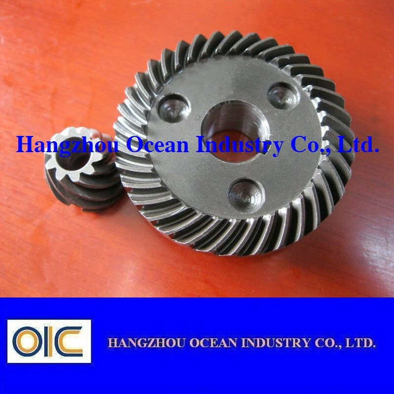 Transmission Spiral Bevel Gear Wheel