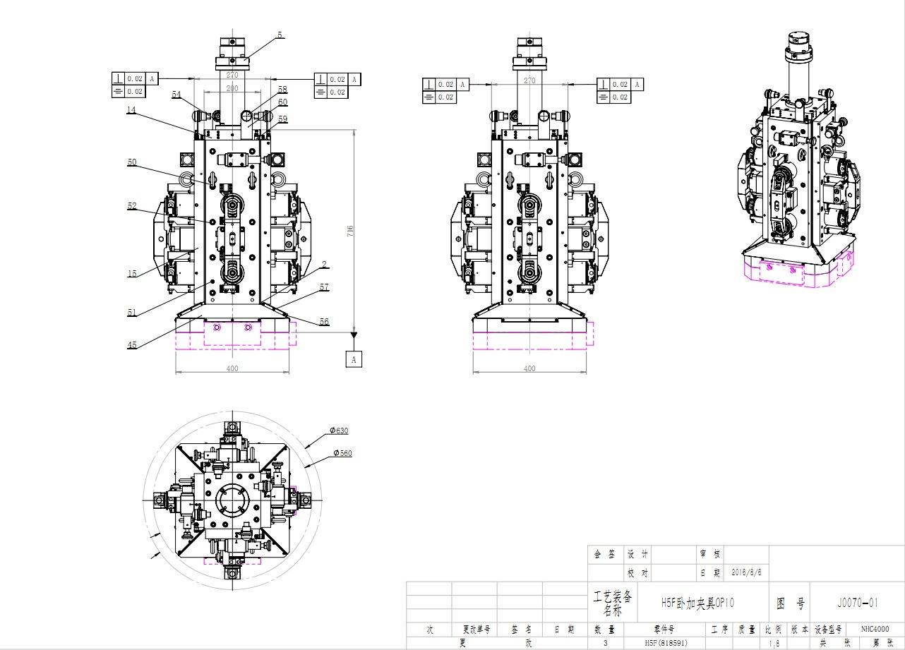 CNC Turbocharger Hydraulic Workholding