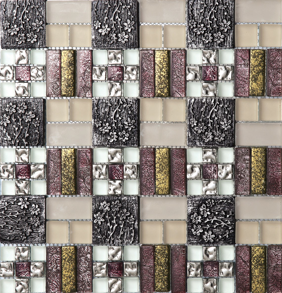 Ceramic & Metal Mosaic (MR007)