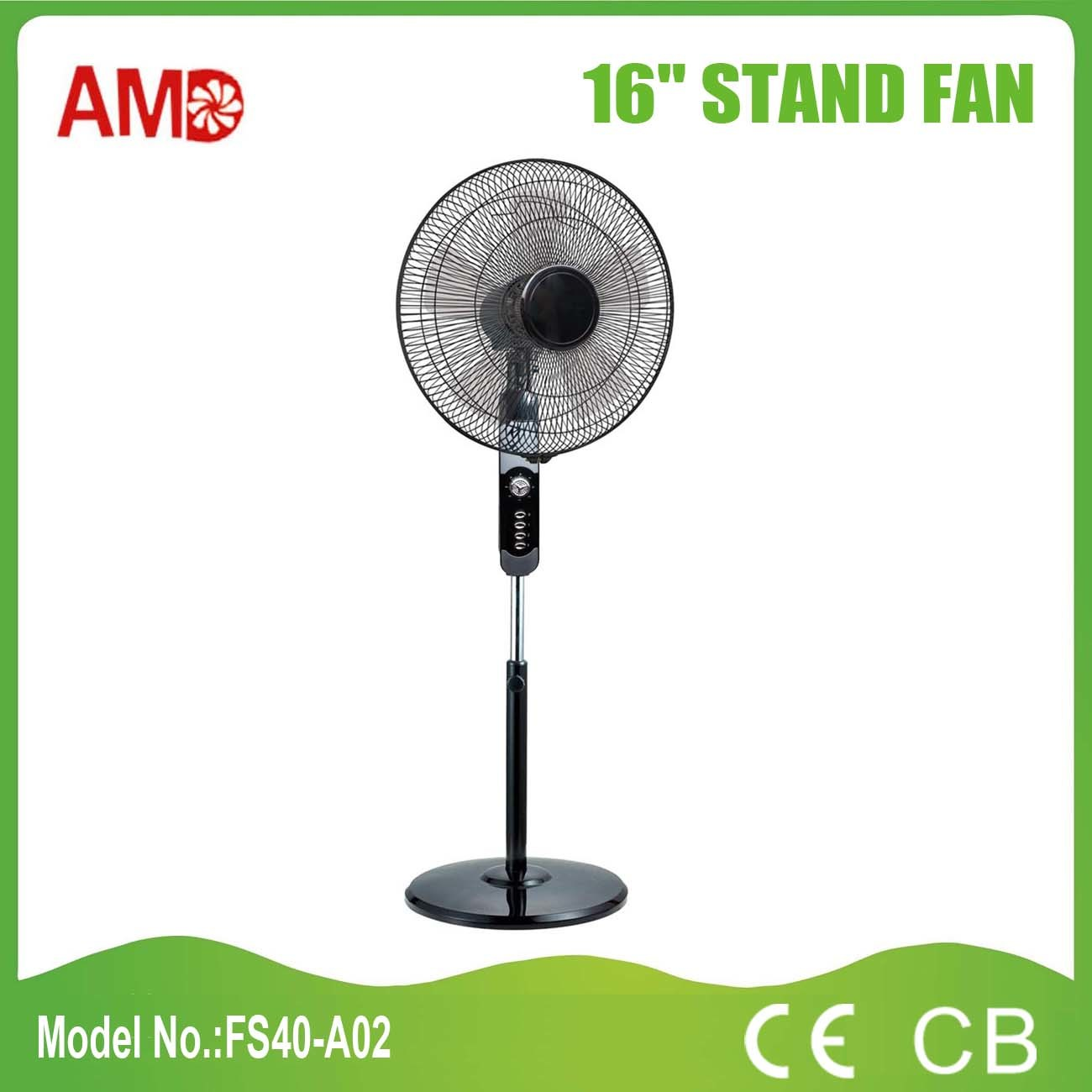 2016 New Design Stand Fan with CE Approved (FS40-A02)