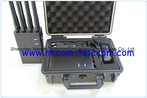 mobile jammer Hampstead , China Portable 8 Bands for 3G/4G Cellular Phone, WiFi, GPS, Lojack Jammer System, New 8 Bands 4G Lte 4G Wimax Cell Phone Jammer 4G Jammer 3G Portable Jammer - China Cell Phone Signal Jammer, Cell Phone Jammer