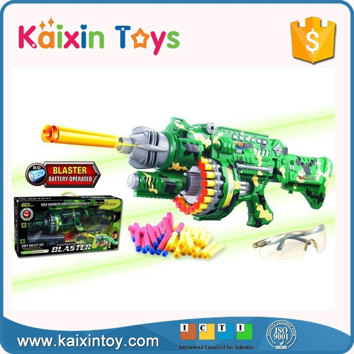 Semi-Automatic Powerful Big Continuous Launch Electric Toy Gun