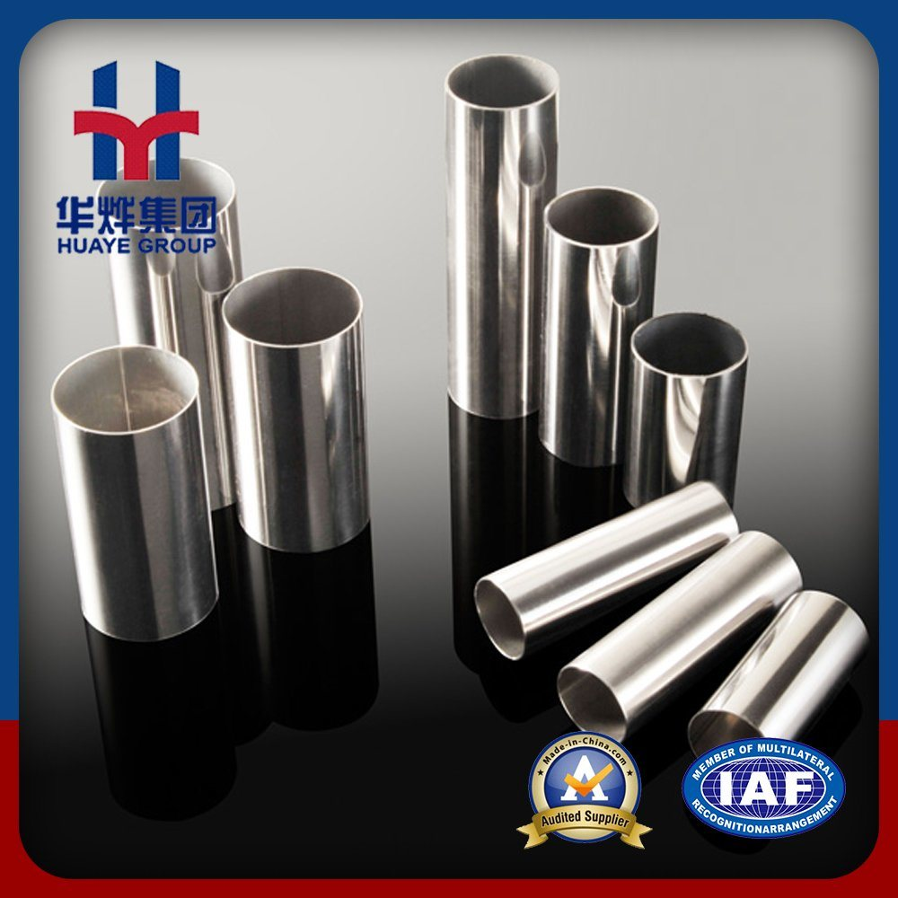 Huaye Prime Stainless Steel Tubes with Aod Material