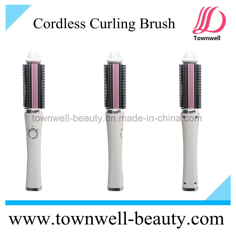 Consumer Electronics USB Car Charger Cordless Hair Curling Brush Iron Manufacturer