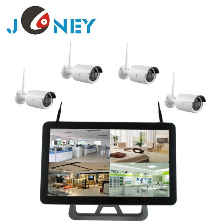 Hot Selling 4CH Wireless NVR Kit CCTV Security Camera System