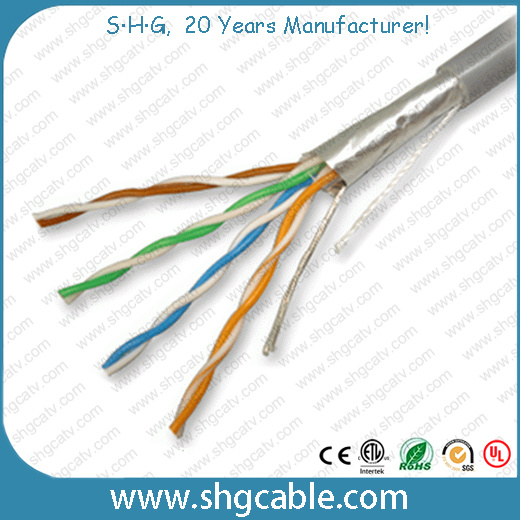 Fluke Test Passed Quality LAN Cable Cat5e FTP