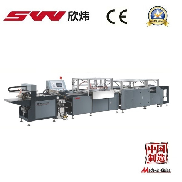 New Design Automatic Book Cover Machine (QFM-460B)